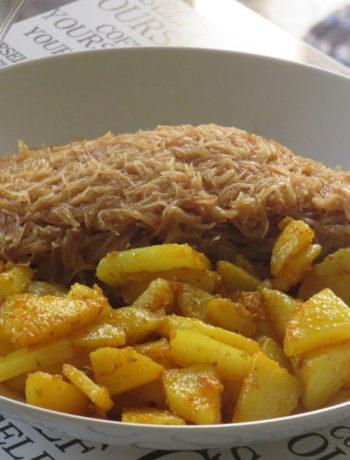 Saiyyun Patata or Seviyan Patata