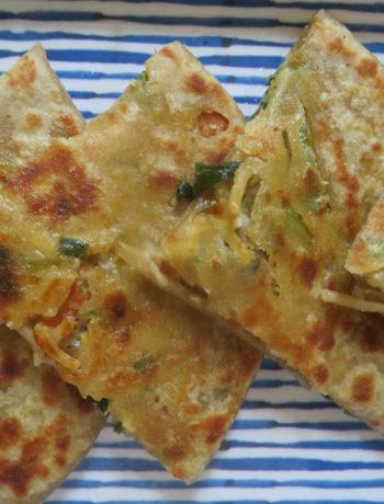 Hakka Noodles Paratha