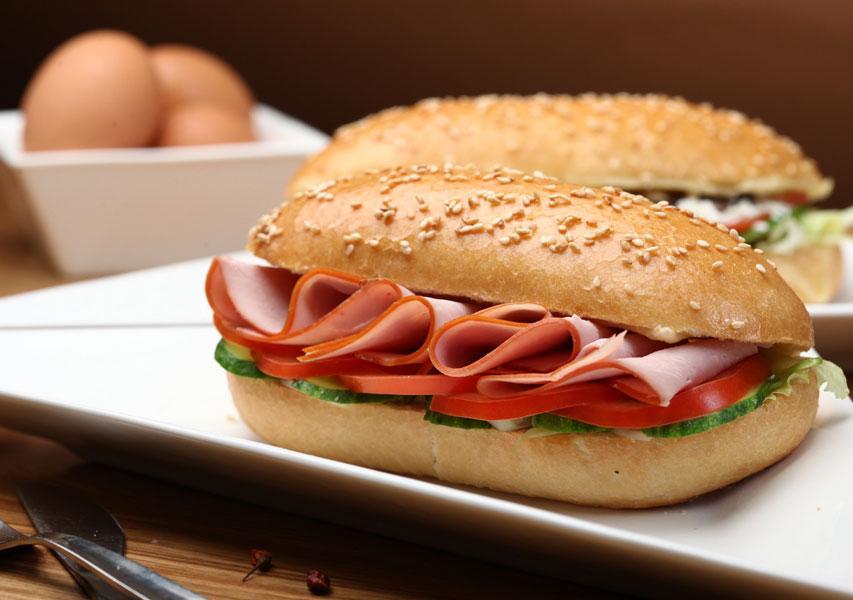 Cold cuts sandwich