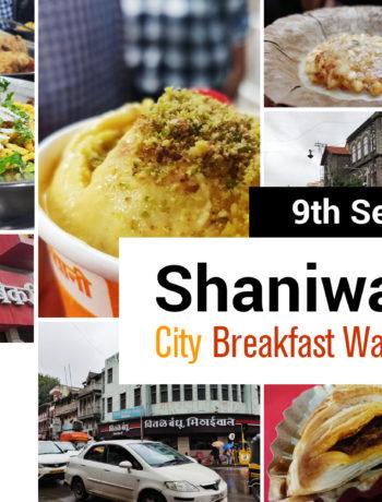 Pune food walk - city breakfast walk