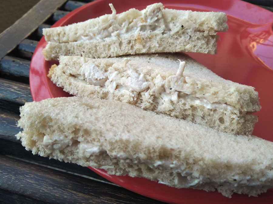 Classic Chicken Mayo Sandwich Eating Cultures