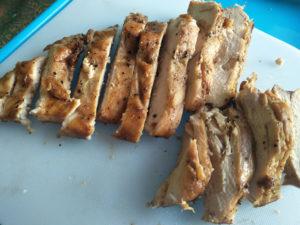 Grilled Chicken Sliced