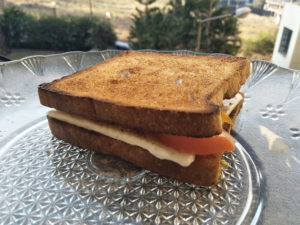 Tomato Cheese Toasted Sandwich