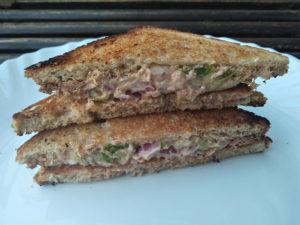 Spicy Tuna Sandwich ready!