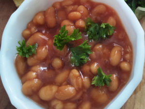 The ready baked beans