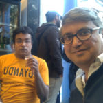 Dushyant and Roy at Vohuman