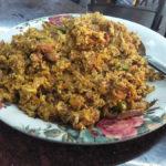 Egg Bhurjee at Cafe Yezdan