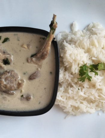 Kerala style Mutton Stew or Lamb Stew