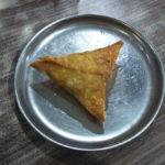 Samosa at Cafe Goodluck
