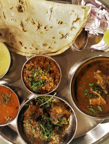 Apurvai Non veg, Narayan Peth, Pune - Mutton Thali