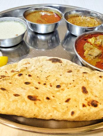 Mutton thali - Ashirwad hotel, Pune