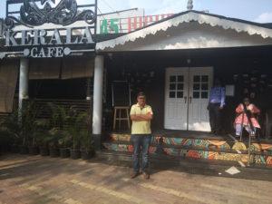 Dushyant at Kerala Cafe, Pune