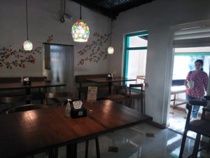 Seating at Karlo Art Kitchen