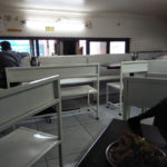 The seating at Ramnath Misal