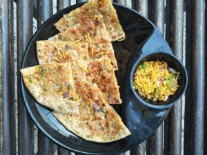 Bhujia Paratha ready to eat