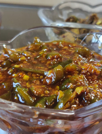Chilli Pickle - Recipe by Trushna Mankar
