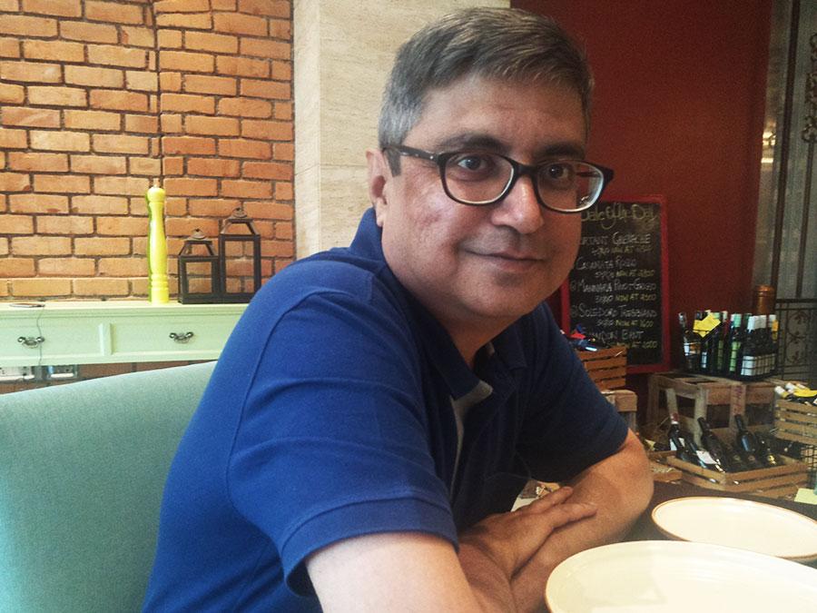 Dushyant at Zeta Hyatt Regency, Pune