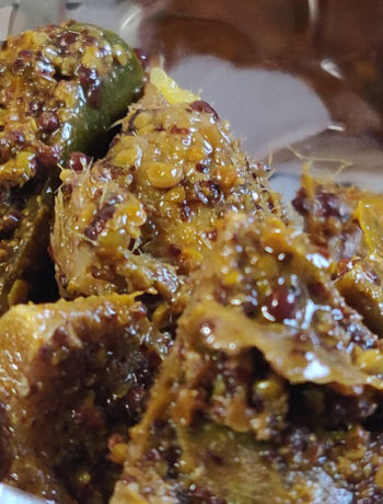 Raw Green Mango Pickle - Recipe by Trushna Mankar