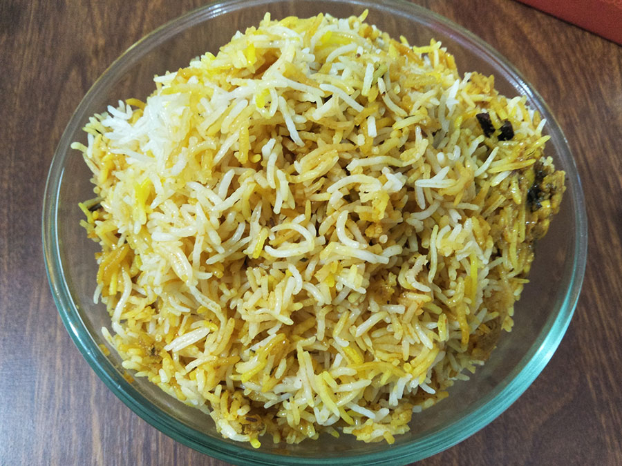 Kaju Biryani - Vegetarian from Ancient Hyderabad, Baner