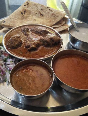 Kolhapur Darbar Chicken Thali