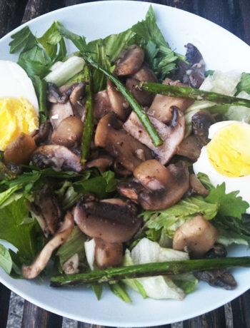 Mushroom and Egg Salad
