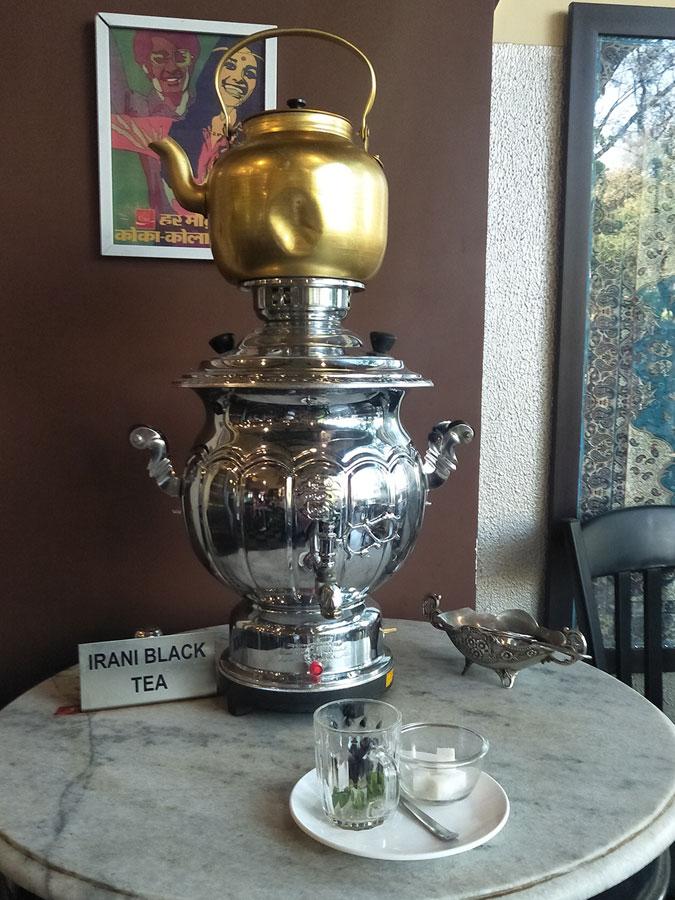 The Irani Black Tea Dispenser