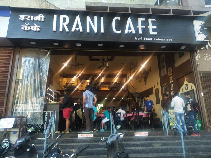 The Irani Cafe Kalyani Nagar Entrance